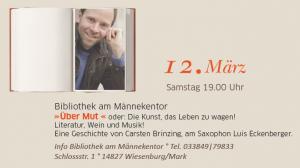 Märkische Literaturtage Wiesenburg
